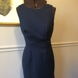 Banana Republic Navy Sheath Dress Size 4
